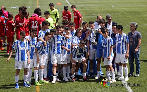Getafe CF se impuso en la final al Leganés