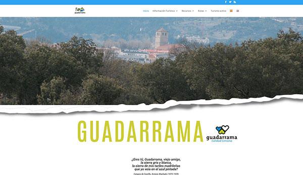 Nueva web turística en Guadarrama