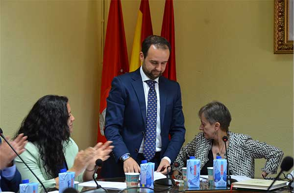 Diosdado Soto, alcalde de Guadarrama con los votos del PP y Ciudadanos
