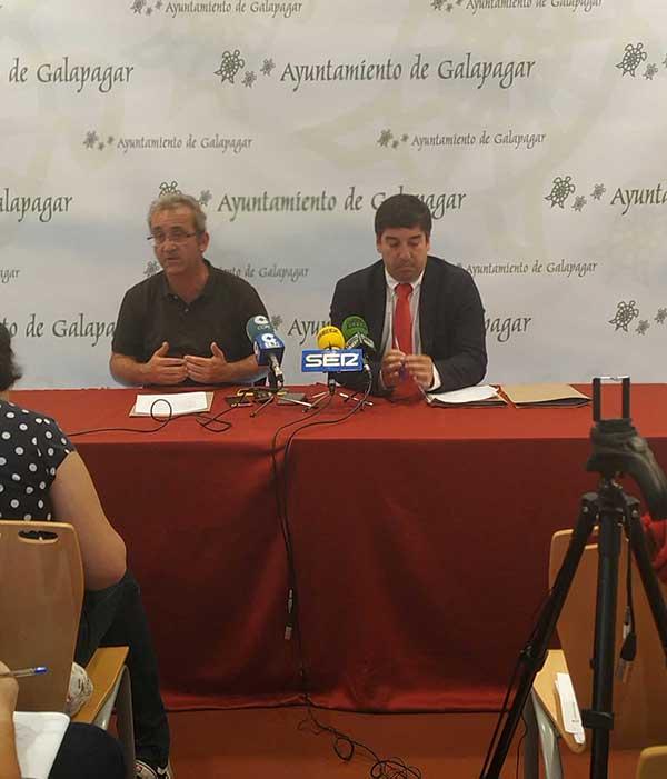 el nuevo gobierno de Galapagar, capitaneado por Alberto Gómez