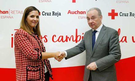 Auchan Retail España y Cruz Roja colaboran para fomentar la creación de empleo entre colectivos vulnerables