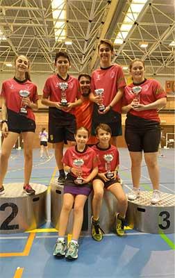 Club de Bádminton Ciudad de Villalba en el Campeonato de Madrid