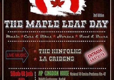 "La Fiesta americana ""Maple leaf Day"" llega a Guadarrama"