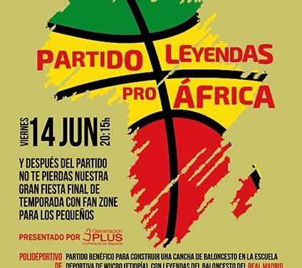 Leyendas Pro África reunirá a famosos y estrellas del baloncesto en Torrelodones