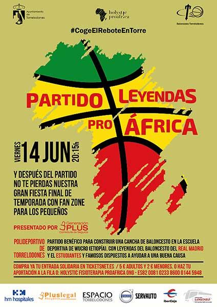 Leyendas Pro África