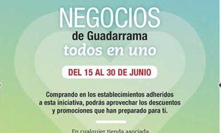 """""""Todos en uno"""", campaña de promociones del comercio de Guadarrama"""