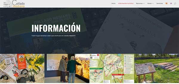 Collado Mediano estrena una web turística bilingüe y accesible