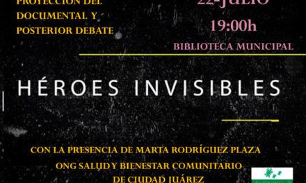 La Biblioteca Ricardo León proyecta el documental Héroes Invisibles: Ciudad Juarez
