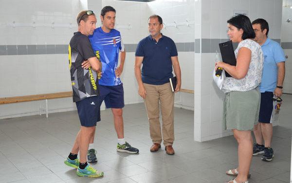 La reforma de los vestuarios del campo de fútbol de Guadarrama se incluirá en el PIR