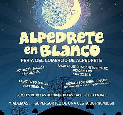 Alpedrete en Blanco, Feria del comercio nocturna