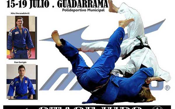 El campeón del mundo Niko Sherazadishvili participa en el stage de judo de Guadarrama