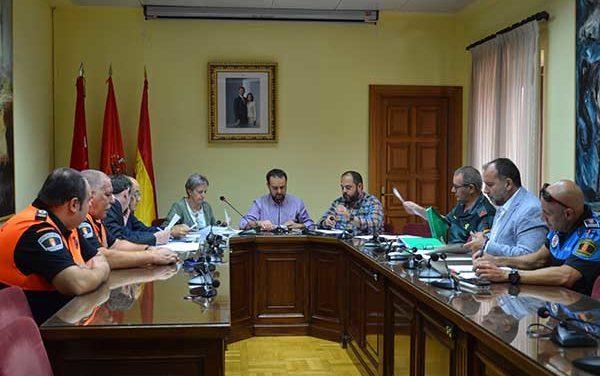 Celebrada la Junta de seguridad de Guadarrama para las fiestas de La Jarosa