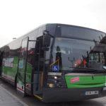 Cambio en los horarios en los autobuses interurbanos