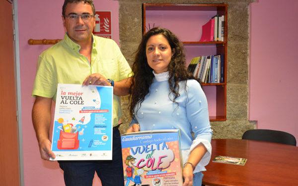 Los comercios de Guadarrama vuelven al cole con una campaña