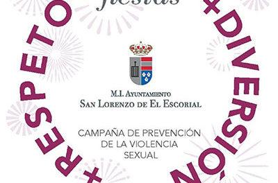Campaña para prevenir la violencia sexual en San Lorenzo de El Escorial