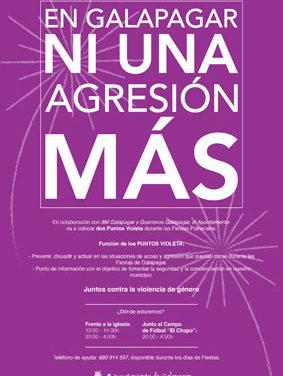 Campaña del Ayuntamiento de Galapagar contra la violencia machista