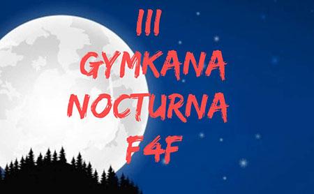 Abiertas las inscripciones para la III Gymkhana Nocturna F4F en Torrelodones