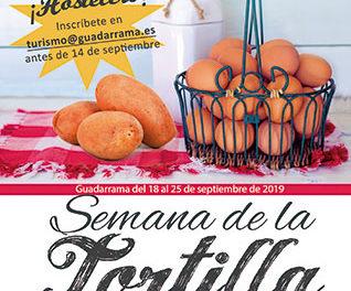Guadarrama Gastronómica propone disfrutar del sabor de la tortilla