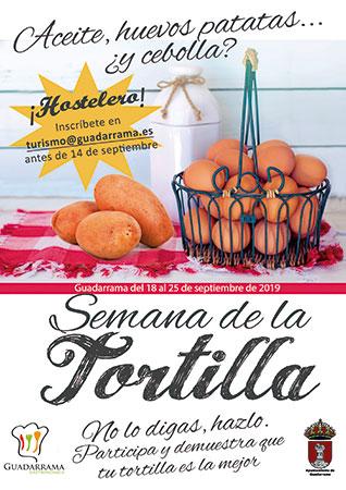 I Semana de la Tortilla en Guadarrama