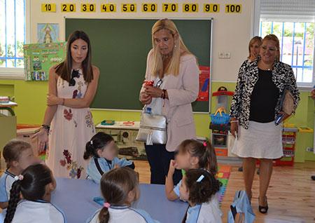 Curso escolar en Collado Villalba, inaugurado por la alcaldesa