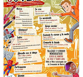 Collado Villalba oferta 50 talleres y 400 plazas para jóvenes y niños