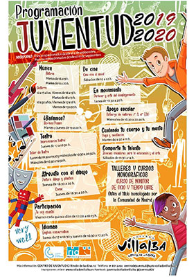talleres para niños y jóvenes en Collado Villalba