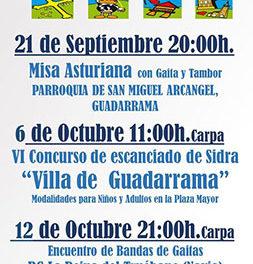 Conciertos y concursos para celebrar el Día de Asturias en Guadarrama