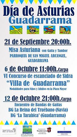 el Día de Asturias en Guadarrama