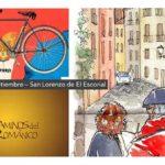 """Encuentro de acuarelistas """"Ladrones de cuadernos"""" y marcha ciclista en San Lorenzo de El Escorial"""