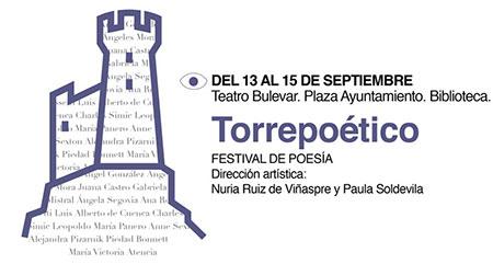 Torrepoético, Festival Internacional de poesía, en Torrelodones