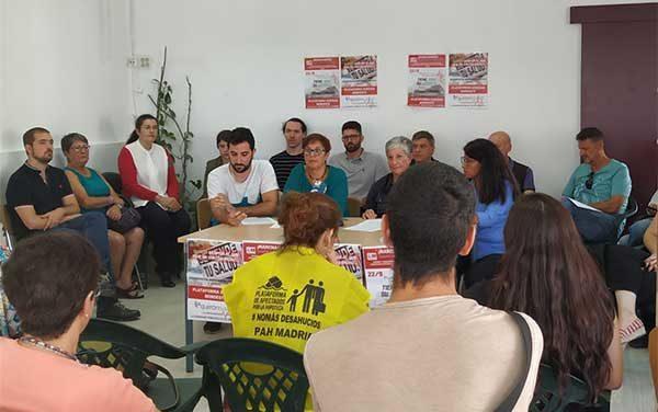 Una treintena de organizaciones respaldan la manifestación de los trabajadores del Hospital de Villalba