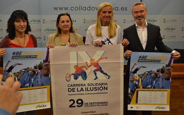 IX Carrera Solidaria de la Ilusión, a favor del Daño cerebral adquirido