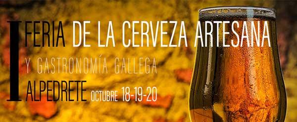 I Feria de la Cerveza artesana y gastronomía gallega en Alpedrete