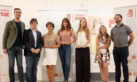 El PSOE entregó los XII Premios Rafael Martínez López