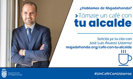 """Álvarez Ustarroz pone en marcha la iniciativa """"Tómate un café con tu alcalde"""""""