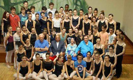 San Lorenzo de El Escorial siente la muerte de la bailarina Alicia Alonso