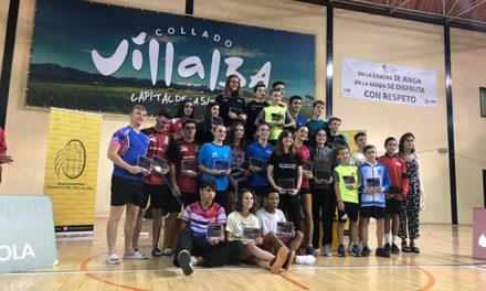 Más de 200 participantes en el Máster Nacional de Bádminton Sub-13 y Sub-17 de Collado Villalba