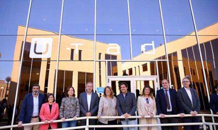 Elvira Rodríguez y José de la Uz visitan la Universidad de Tecnología y Arte Digital U-TAD