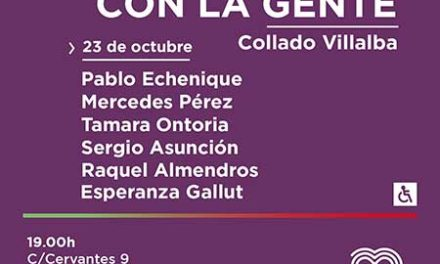 Pablo Echenique se reunirá con la sociedad civil mañana miércoles