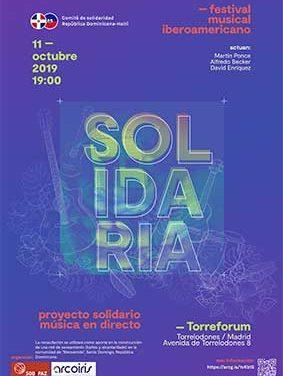 """Un festival en Torrelodones para presentar el proyecto """"Solidaria"""""""