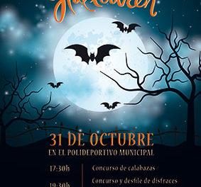 Fiesta de Halloween en el Polideportivo de Galapagar