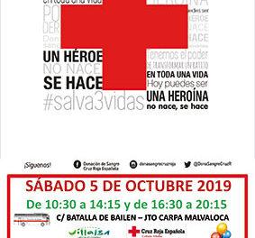 Maratón de donación de sangre en Collado Villalba