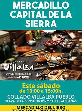 El Rastro Capital de la Sierra celebra una edición especial en Collado Villalba