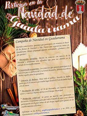 Campaña de Navidad en Guadarrama con concurso de belenes y escaparates
