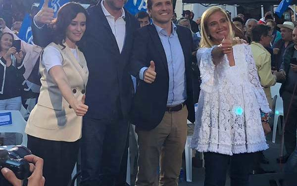 Alcaldes del noroeste cierran la candidatura del Partido Popular por Madrid