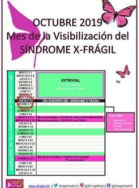 Octubre, mes de la visibilización del Síndrome X-Frágil