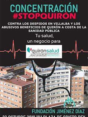Más de 200 personas se adhieren al manifiesto #STOPQUIRÓN