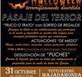 Majadahonda celebra Halloween con un túnel de terror