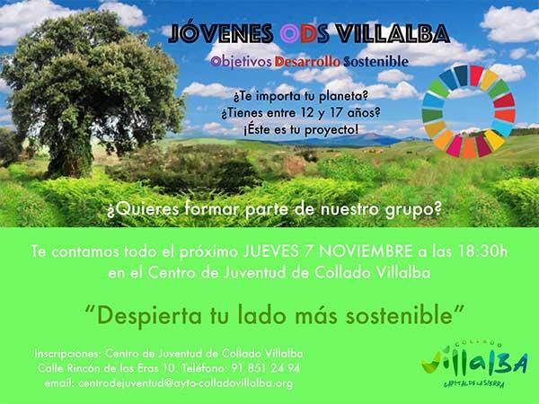 Jóvenes de Collado Villalba participarán en un proyecto para promover el desarrollo sostenible