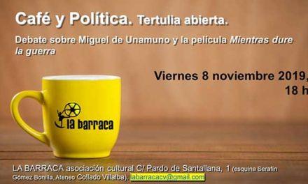 """Debate sobre Miguel de Unamuno y la película """"Mientras dure la guerra"""""""